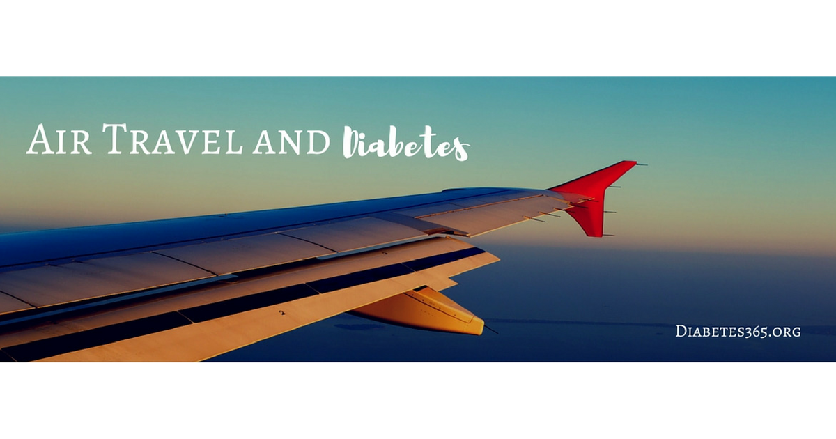 Air Travel and Diabetes | Tips for Traveling with Diabetes